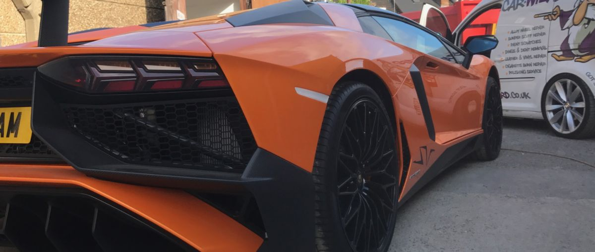 Lamborghini Paint Repair
