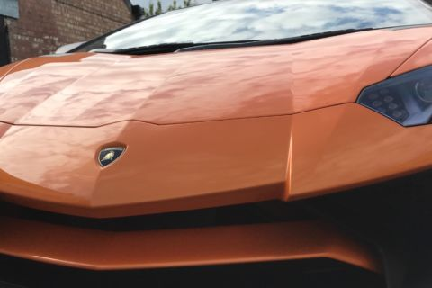 Lamborghini Paint Correction